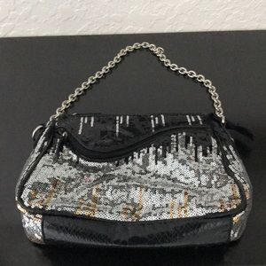 SR Squared by Sondra Roberts Sequined Bag